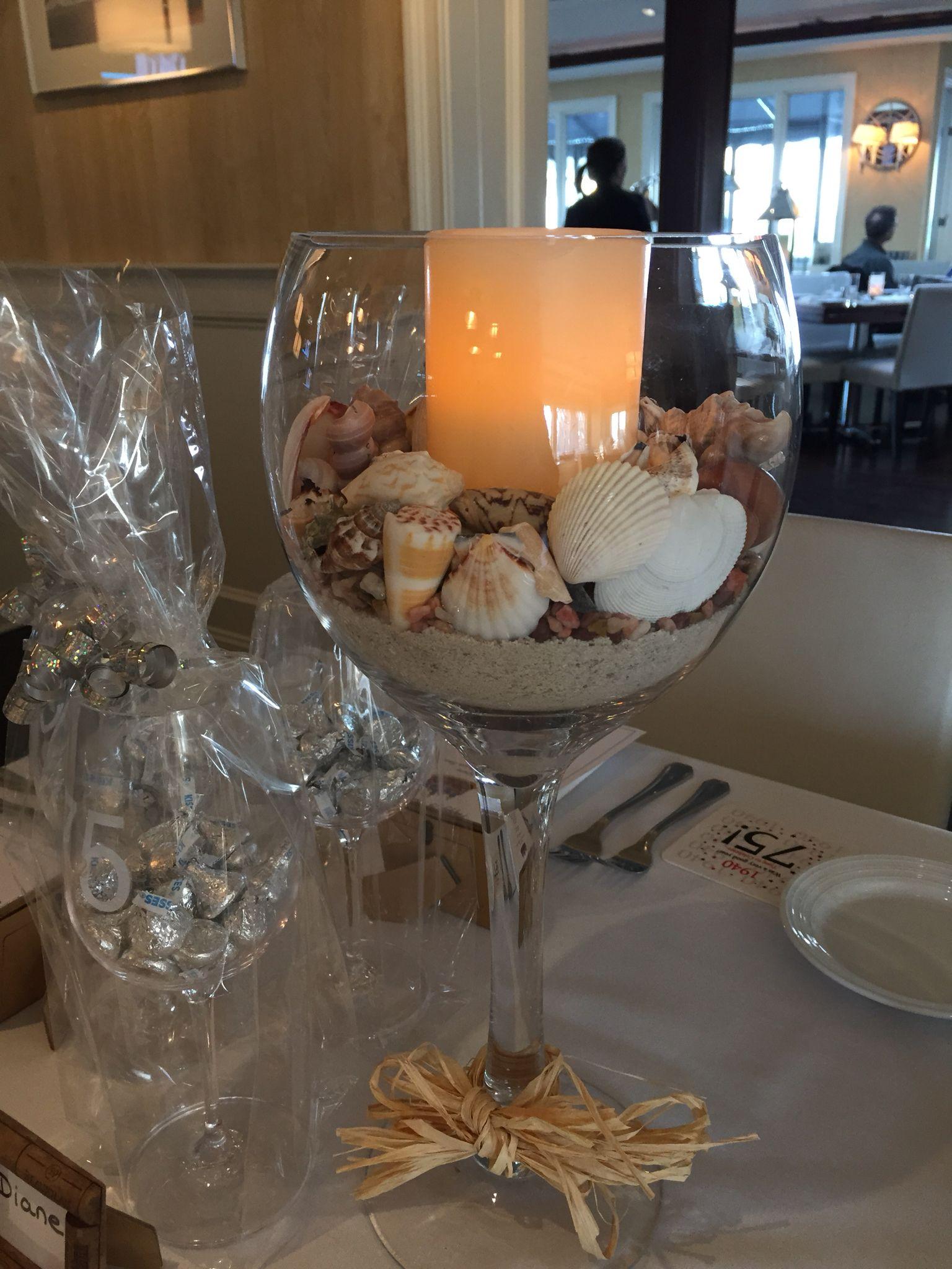 Huge Wine Glass Centerpiece Party Ideas Huge Wine