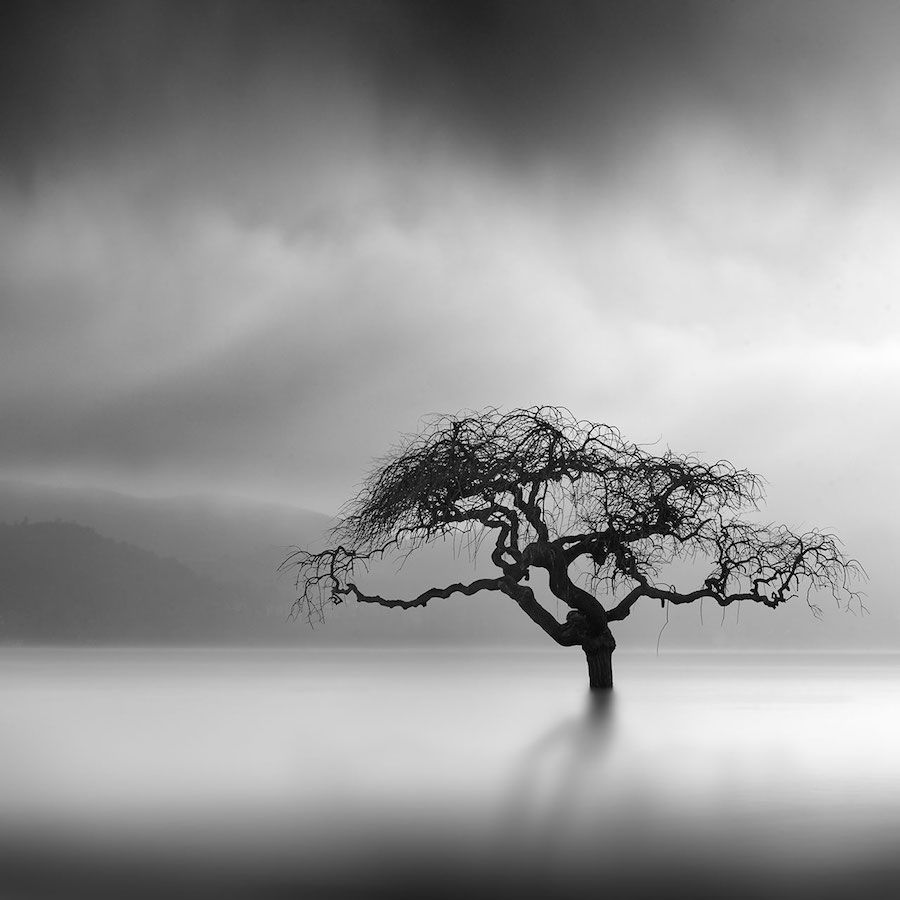 George digalakis surreal nature photography black and white minimalism landscape