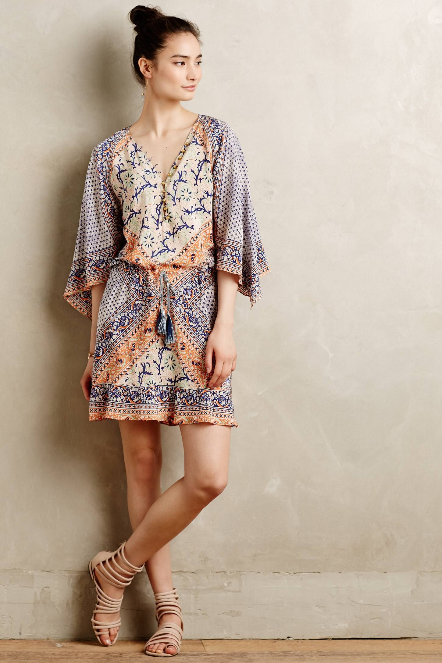 Elysium silk dress anthropologie this looks incredibly comfy