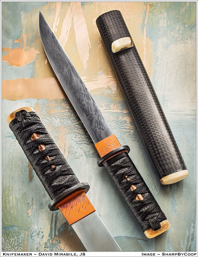 Photos An Incredible Tanto From David Mirabile | Blades and Other ...