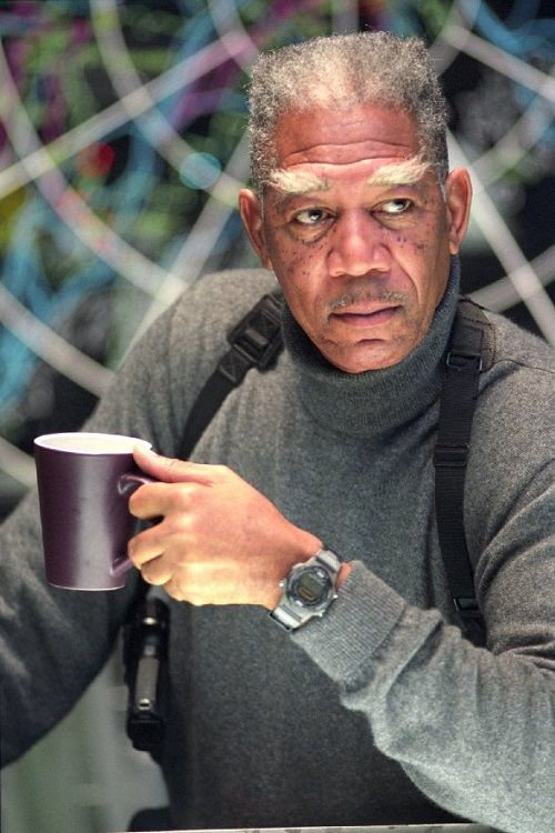Dream Catcher The Movie Morgan Freeman As Colabraham Curtis From The Movie Dreamcatcher