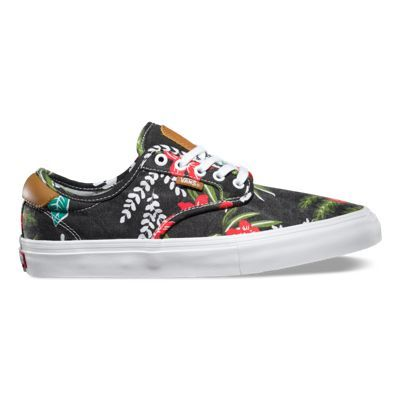 9f023f826b Vans® Chima Pro in Aloha is made with Hawaiian-inspired printed canvas  uppers and