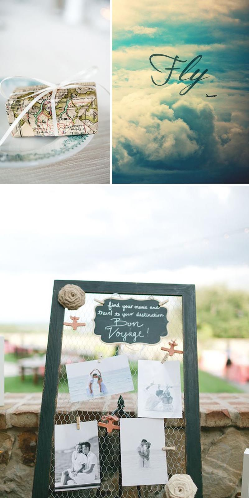 Travel Themed Wedding Ideas | Yes Baby Daily | Wedding | Pinterest ...
