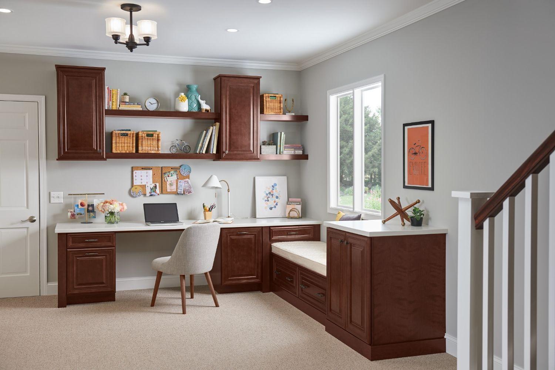 Shenandoah Cabinets | Built in cabinets, Lowes kitchen ...