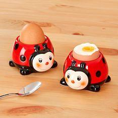 2 kalíšky na vajcia