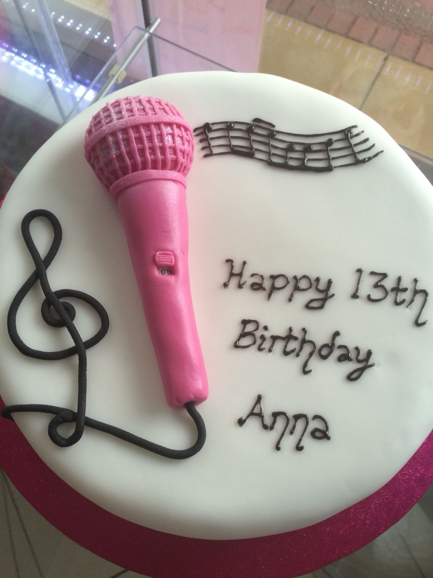 music microphone cake party ideas music birthday cakes microphone cupcake toppers edible also turner microphone wiring [ 852 x 1136 Pixel ]
