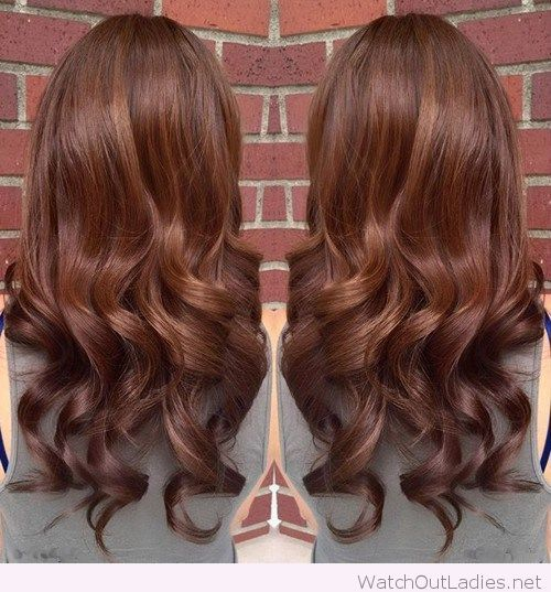 Awesome curls and chocolate brown hair with caramel highlights hair coloring pmusecretfo Choice Image