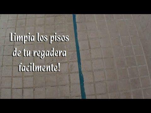 Como limpiar los pisos de la regadera facilmente youtube trucos de julieta limpia pisos - Como quitar rayones del piso vinilico ...