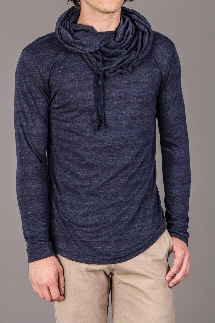 Lantern Cowl Collar Lightweight Sweater - Arsnl - Sweaters ...