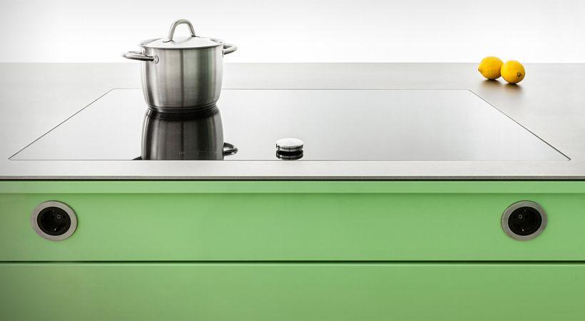 Integration Steckdosen (Popstahl) | Küche | Pinterest | Steckdose ...