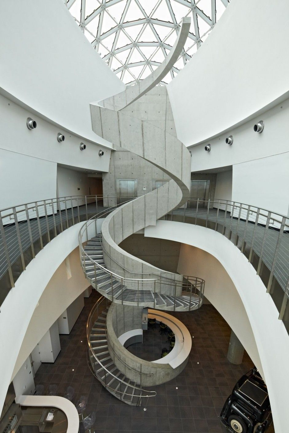 2014 Staircase At The Great Salvador Dali Museum, St. Petersburg, Florida   Interior  Design By HOK   Photo By Moris Moreno   Mlle