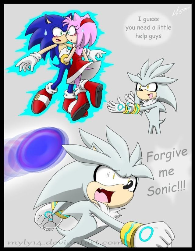 Oh poor Silver...and Sonic must me ticked.