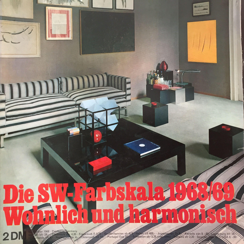 Werbeagentur Rasterfabrik Gmbh Schöner Wohnen Ausgabe 70er Jahre