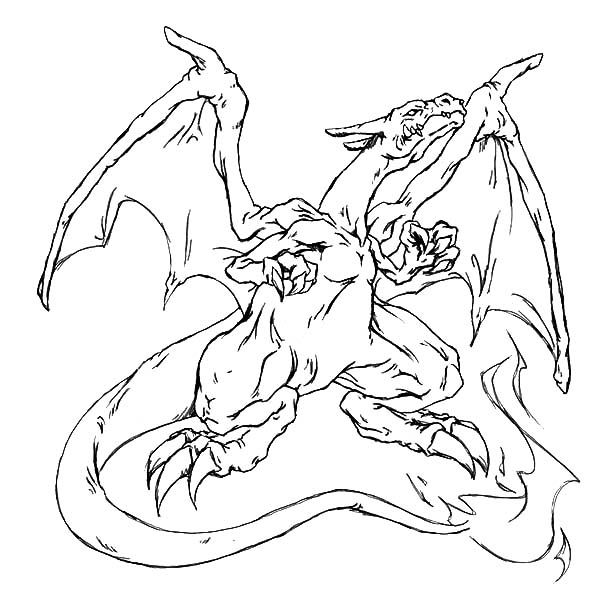 Free pokemon mega charizard coloring
