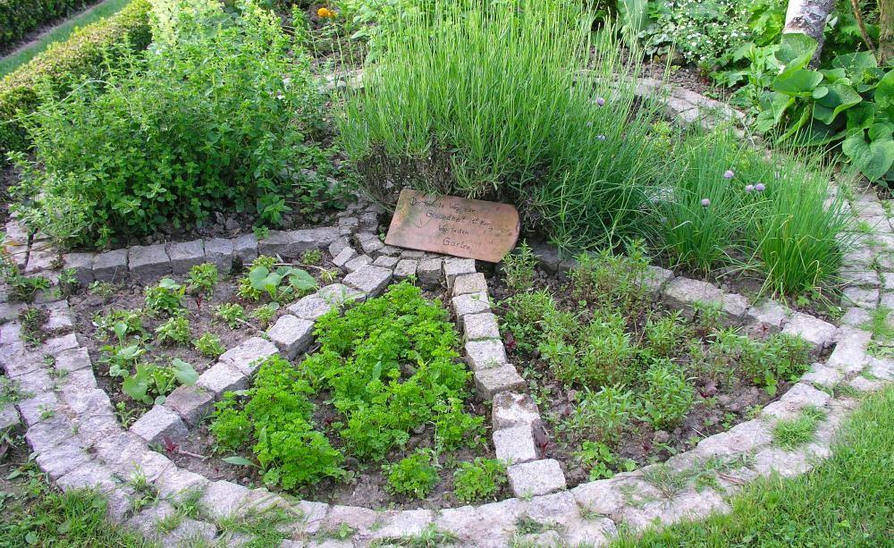 Krautergarten Garten Herb Garden Garden Und Herb Garden Planter