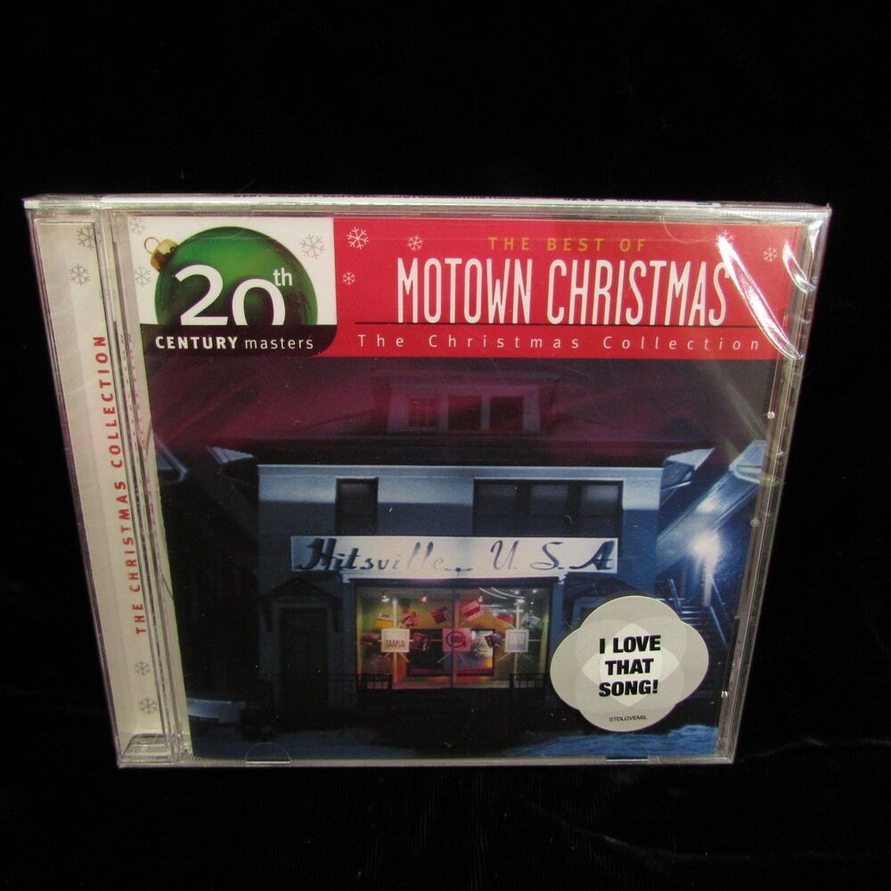 Motown Christmas Music.The Best Of Motown Christmas 20th Century Masters The