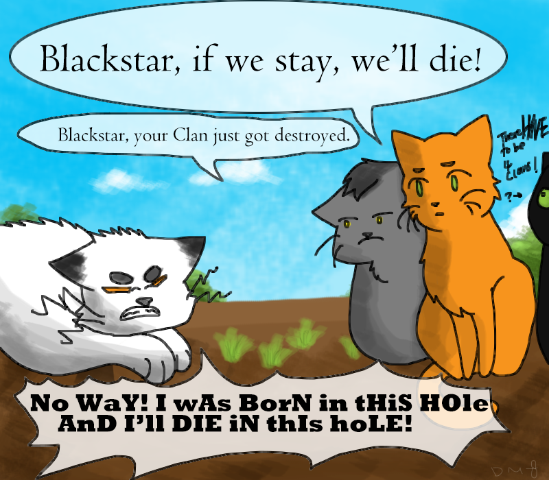 The New Prophecy Age by Drawmachiine Warrior cats funny