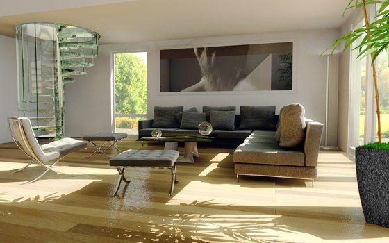 glas raumspartreppe moderne wohnung design - Wohnung Design