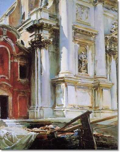 John Singer Sargent - Church of St Stae Venice