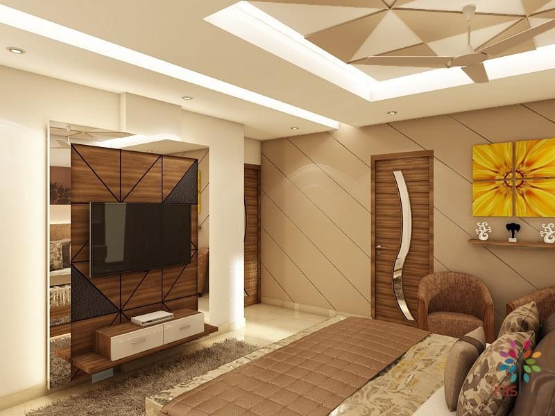 Luxurious Bedroom With Minimal Design Details With Images Lcd