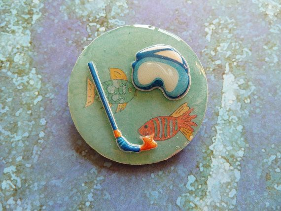 Two Little Fishies on A Treasure Hunt by bebesgardentreasures, $3.75