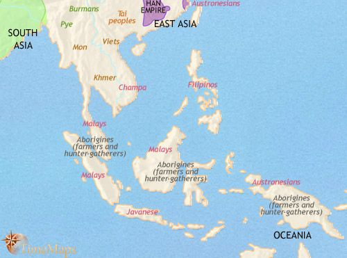 History map of south east asia 200bc world history pinterest history map of south east asia 200bc gumiabroncs Choice Image