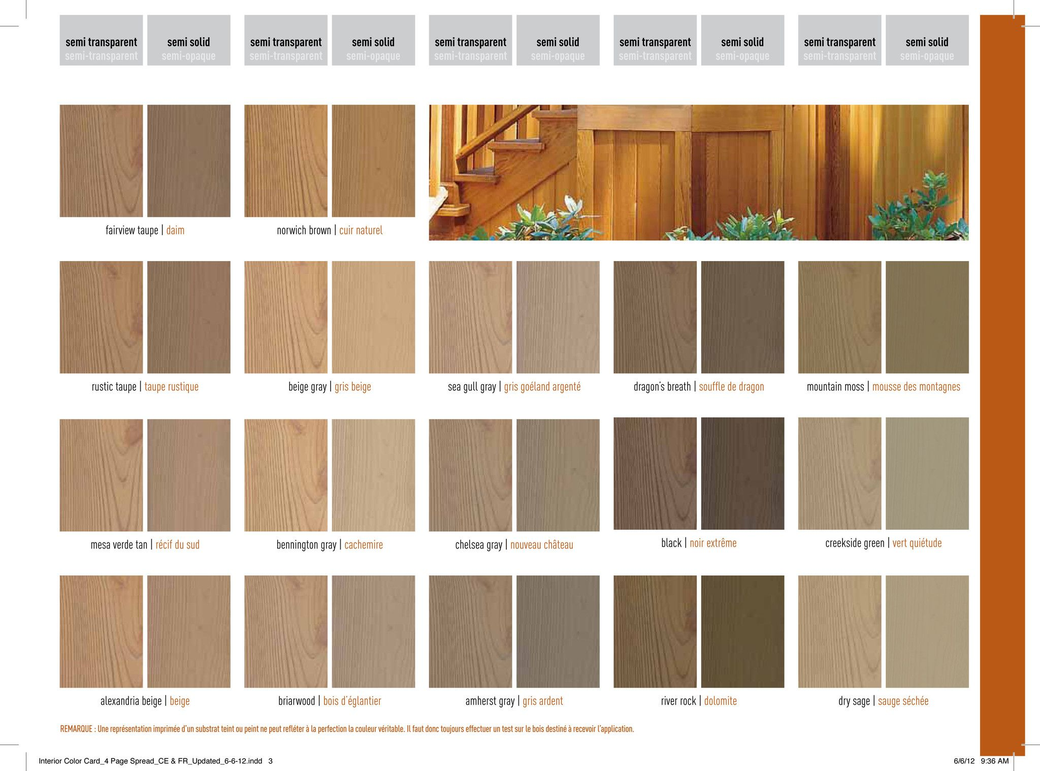 Benjamin Moore Arborcoat Premium Exterior Semi Transparent Deck Stain Colors Semi Transparent Stain Cabinet Stain Colors