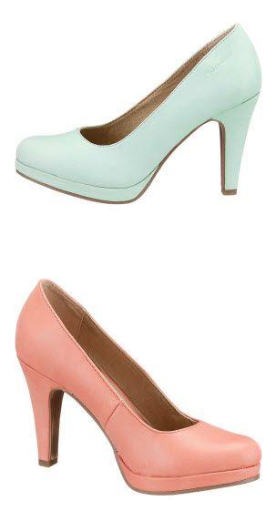 Tamaris Pumps in Pastel | Shoes, Kinds of shoes, Blue suede
