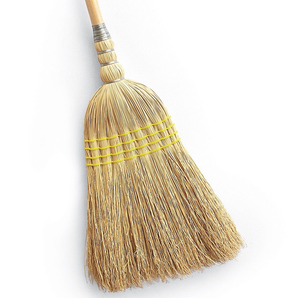 Broom Care Tips Straw Broom Broom Happy Homemaking