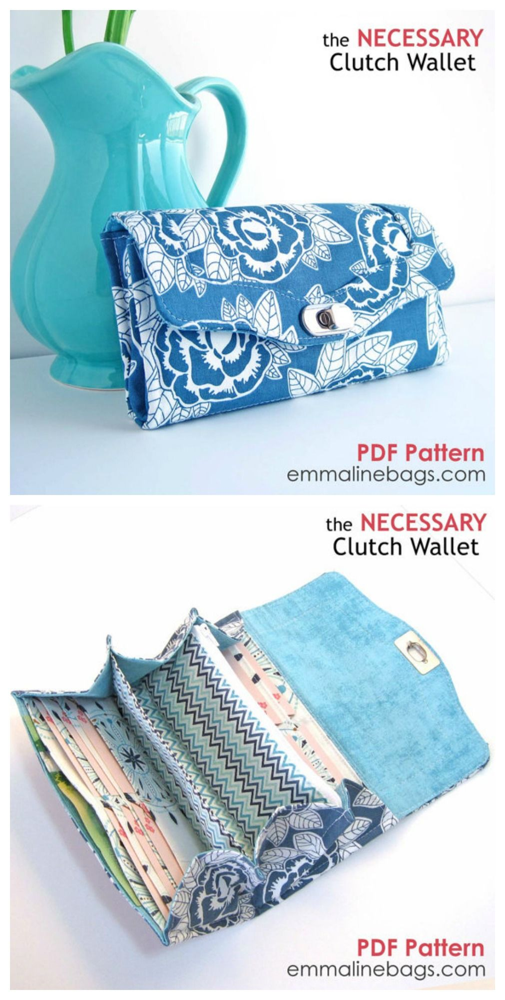 The necessary clutch wallet sewing pattern a large wallet with the necessary clutch wallet sewing pattern a large wallet with card slots and room for jeuxipadfo Choice Image
