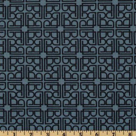 Amazon.com: Parson Gray World Tour Barcelona Tin Blue Fabric