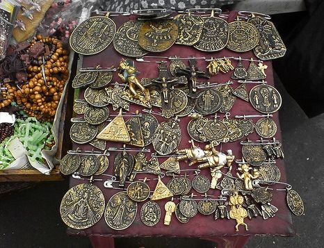 Agimat or bertud or anting-anting, is a Filipino word for amulet or