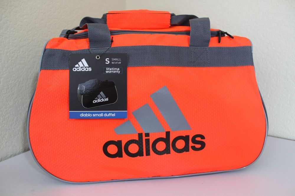 3d141cdecfa adidas diablo small duffel sport gym bag women 18.5
