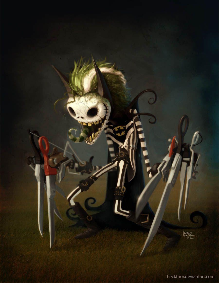 BeetleJack-ScissorMan - Tim Burton Character Mashup by heckthor ...