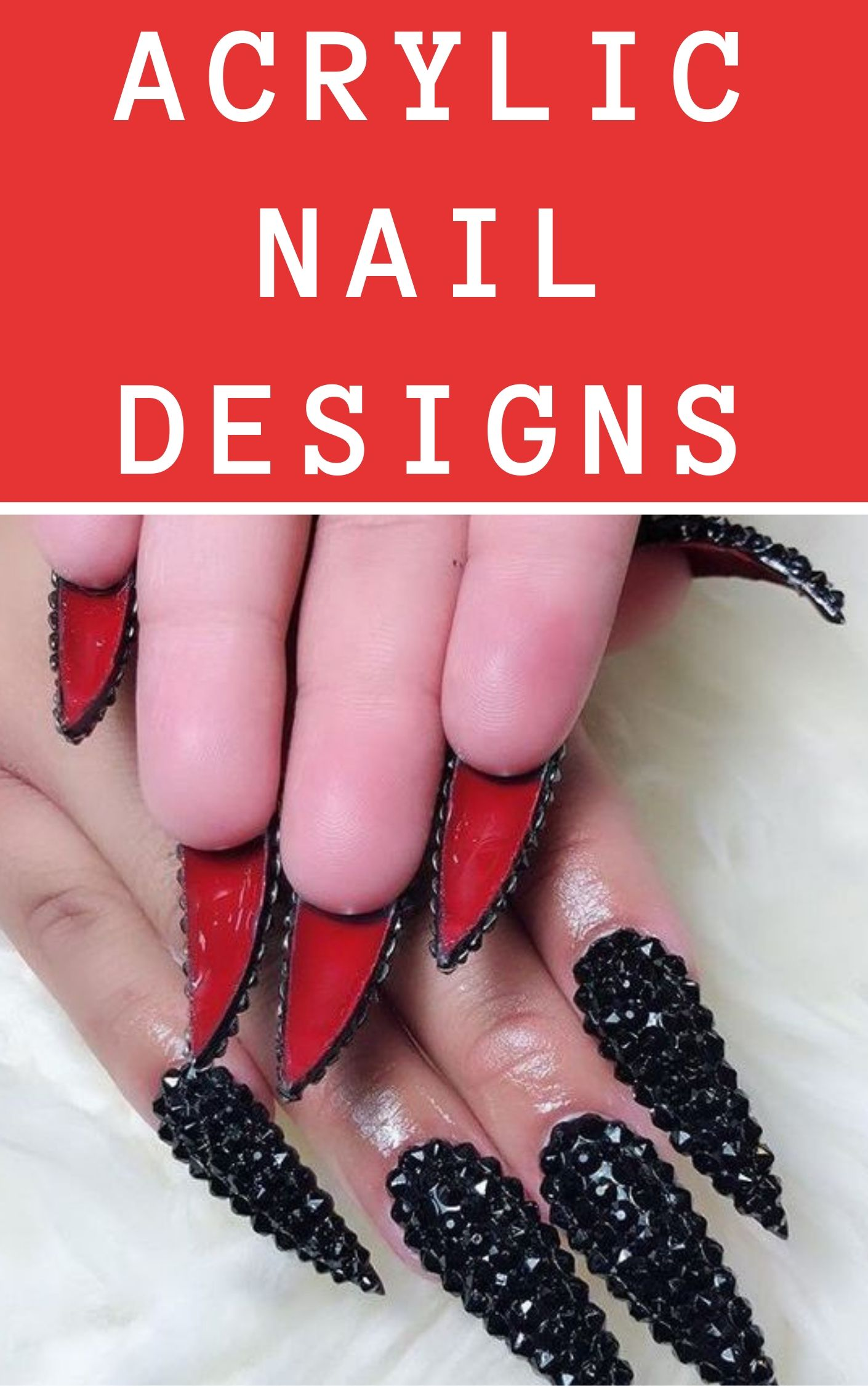 10 Acrylic Nail Designs For You To Impress Everyone Acrylic Nail Designs Nail Designs Acrylic Nails