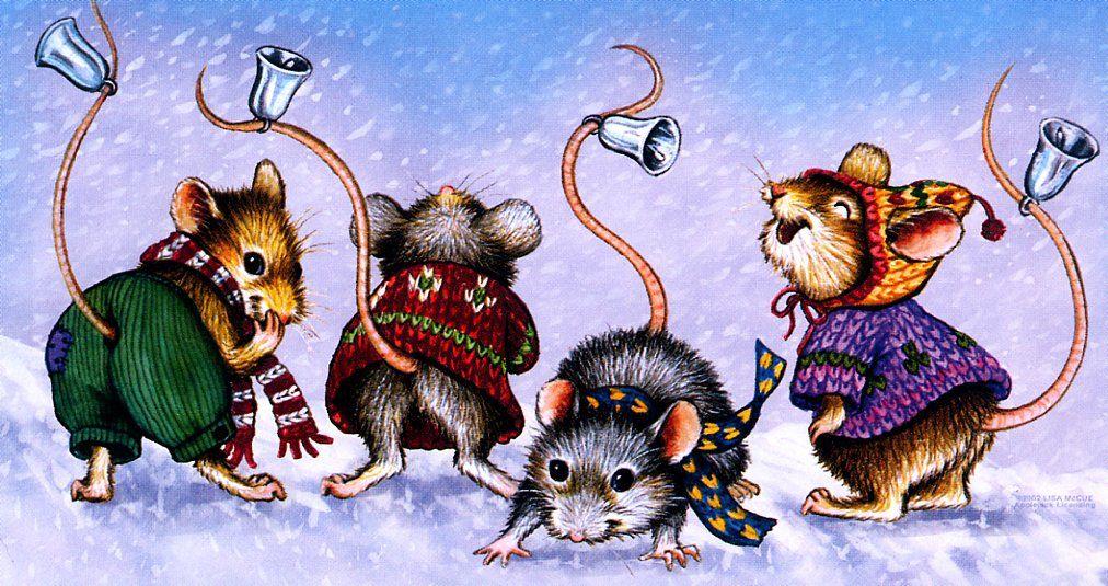 Новогодние картинки мыши или крысы
