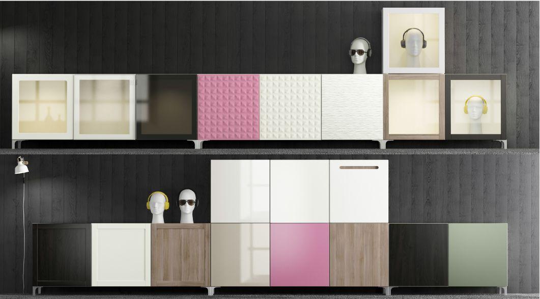 mobili per soggiorno IKEA BESTÅ | mi casa | Pinterest | Ikea, Ikea ...