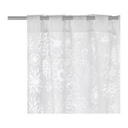 RENATE LJUV Sheer Curtains, 1 Pair   IKEA Turn These Babies Into A Shower  Curtain