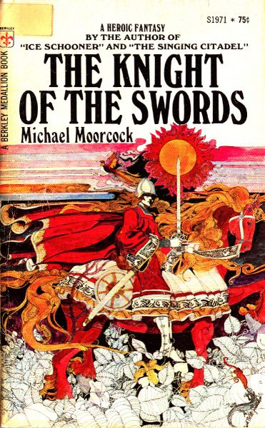 Michael Moorcock's Chronicles of Corum Published 1971-1974 by Berkley Medallion Art by David McCall Johnston