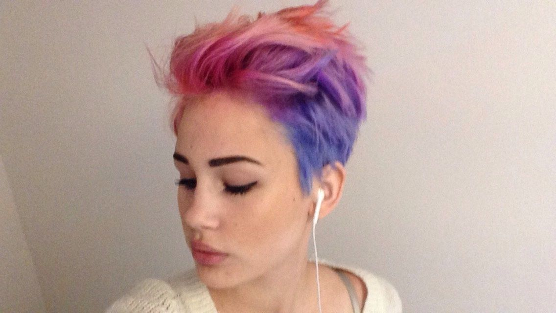 I Really Want To Do This To My Hair Likeally Bad Lgbt