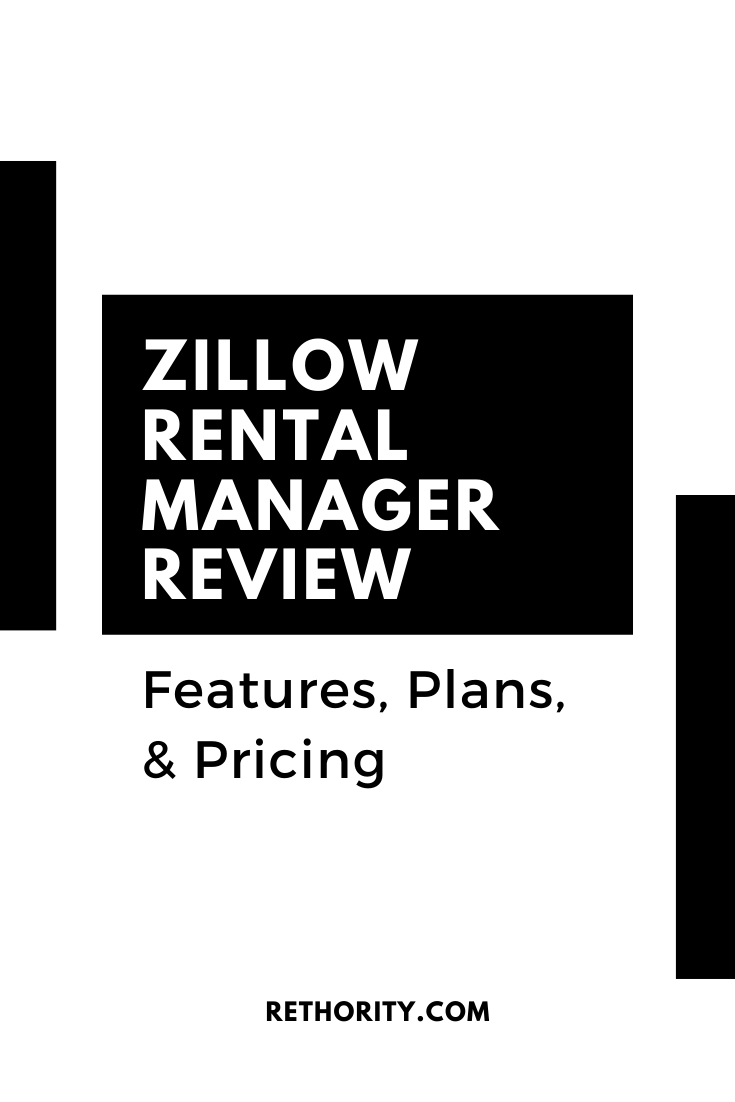 Zillow Rental Manager Review In 2020 Real Estate Software Management Rental