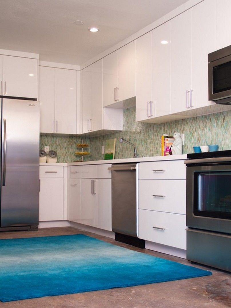 Light Blue Kitchen Rugcliff Kitchen