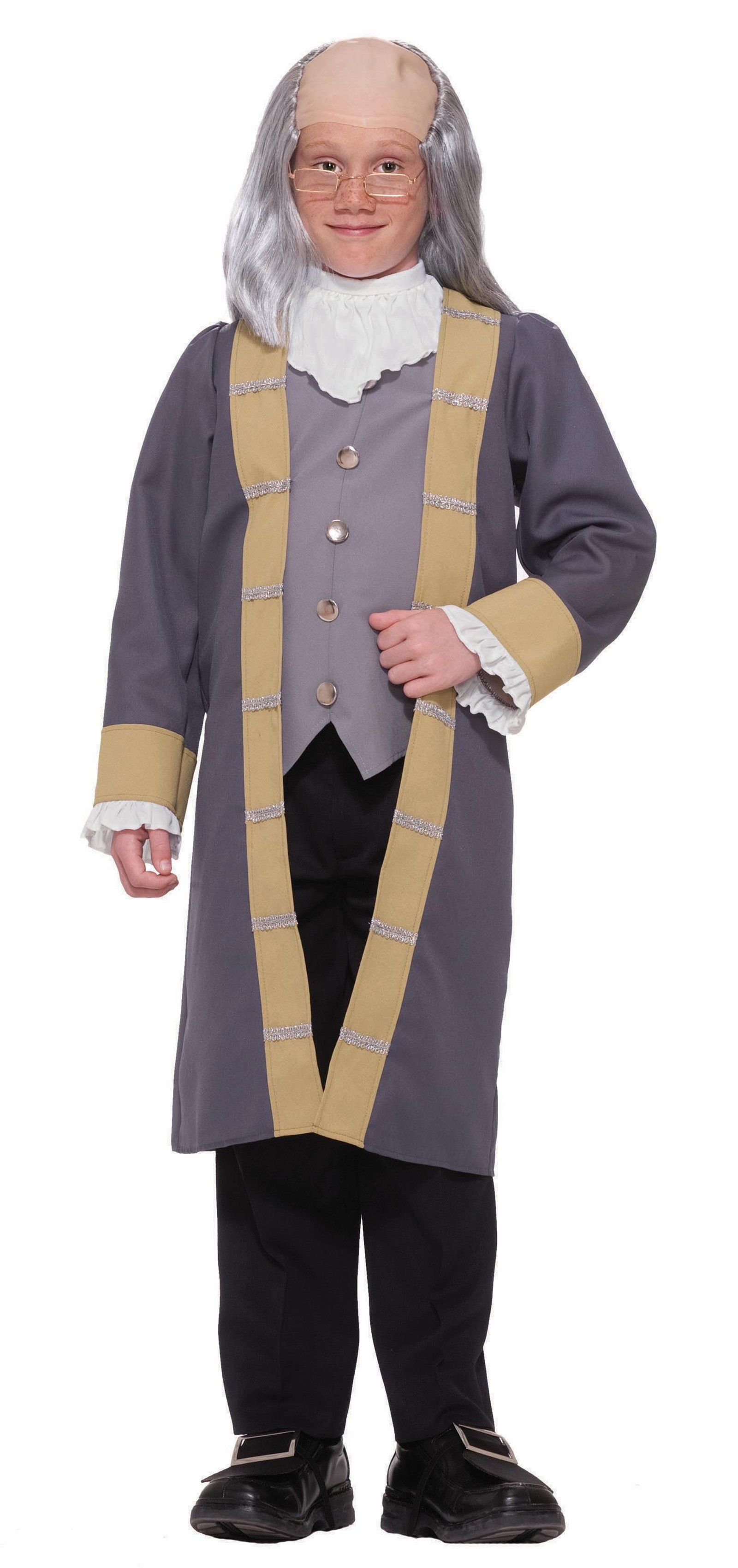 Cool Costumes Ben Franklin Child Costume just added