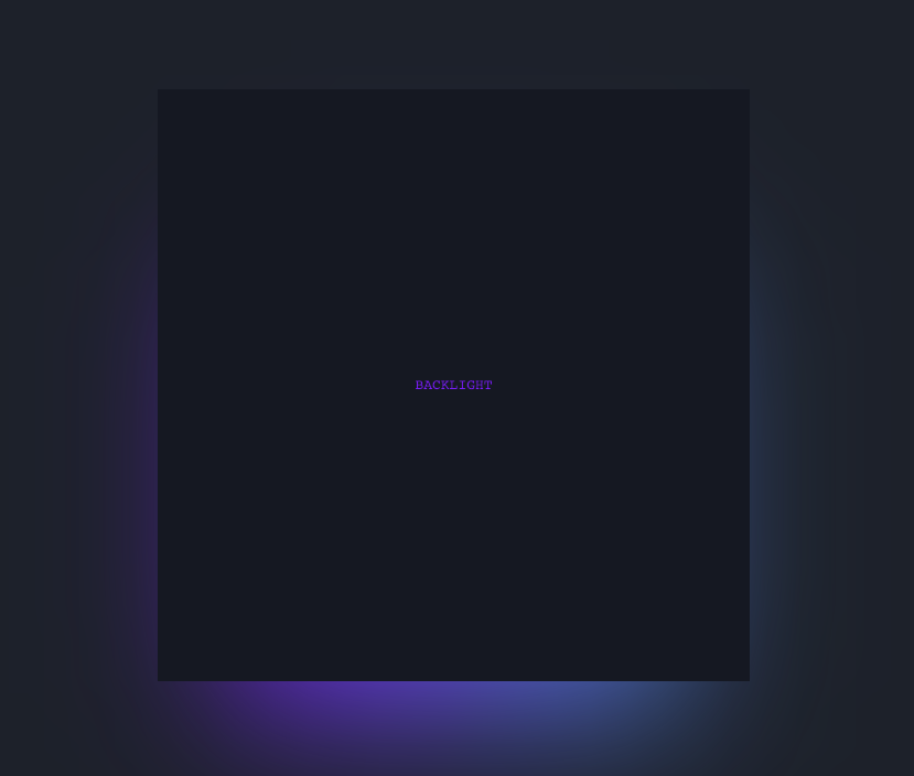 Animated CSS background glow based on multiple colors