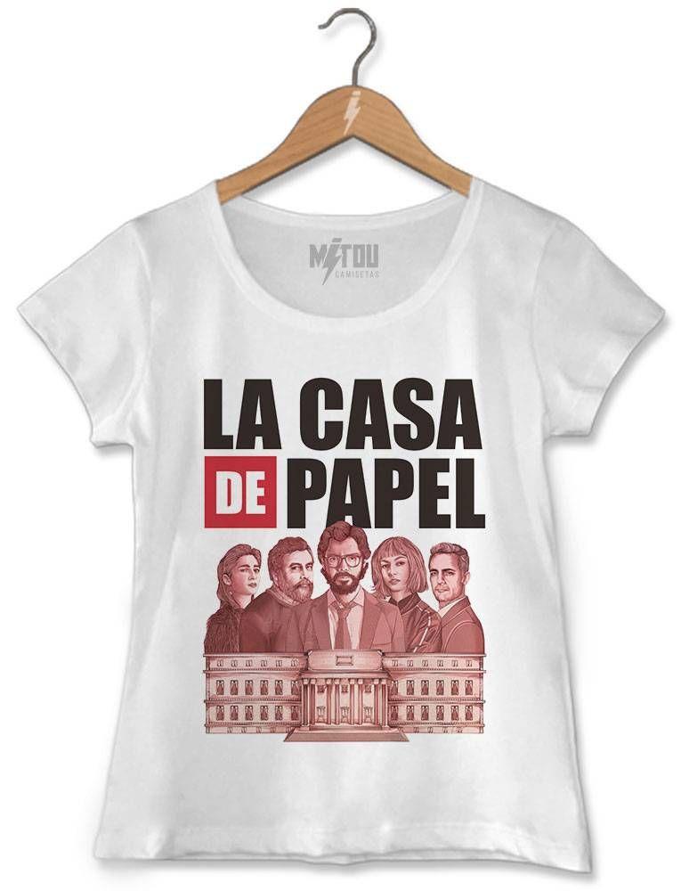 9804f7270f5ae Camiseta La Casa de Papel em 2019