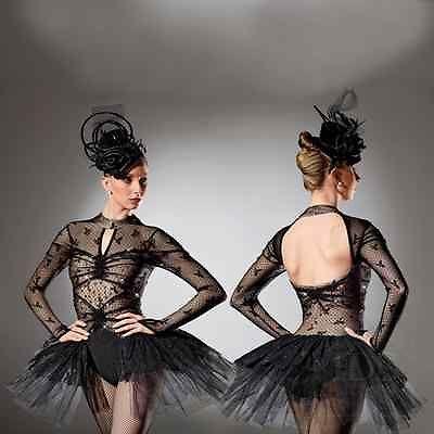 art stone follies bergere costume black cabaret dress dance costume