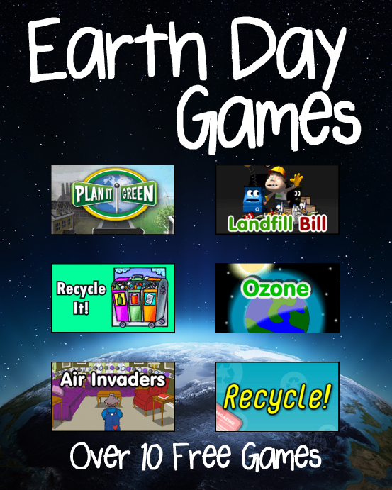 Earth Day Games Earth day games, Earth day, Earth day