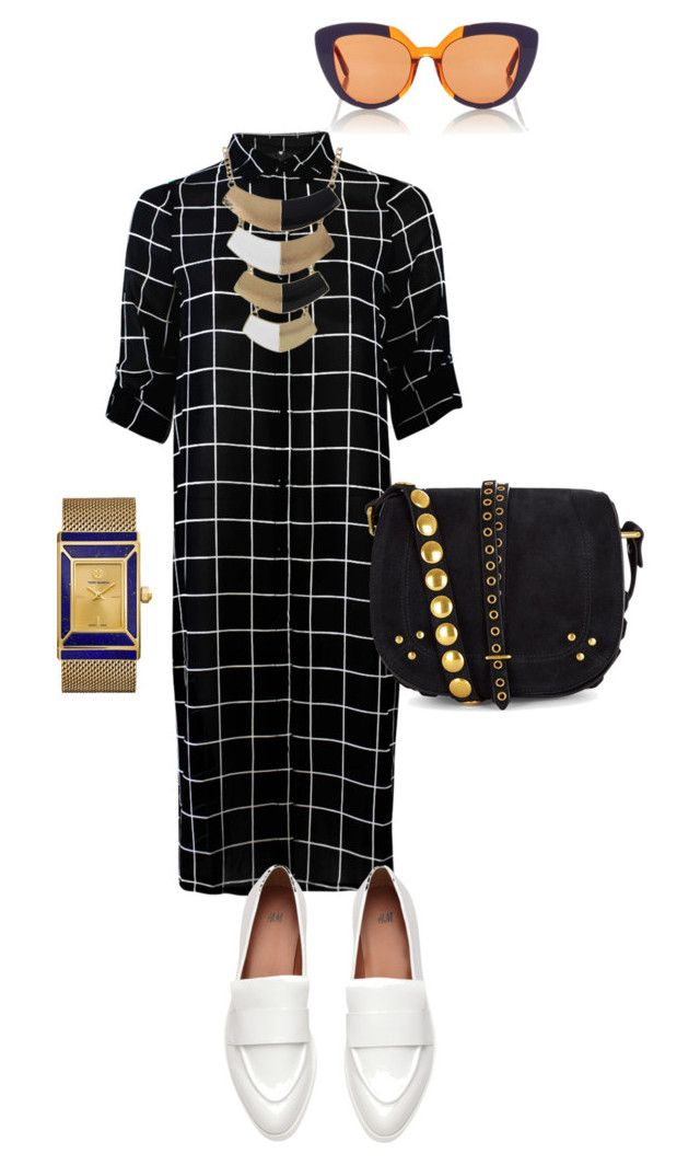 """""""Untitled #273"""" by debdebeli ❤ liked on Polyvore featuring Jérôme Dreyfuss, Tory Burch and Marni"""
