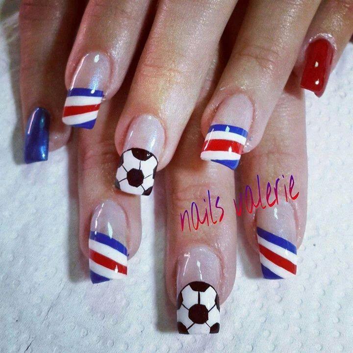 Costa Rica   Uñas   Pinterest   Uñas patrias, Diseños de uñas y ...