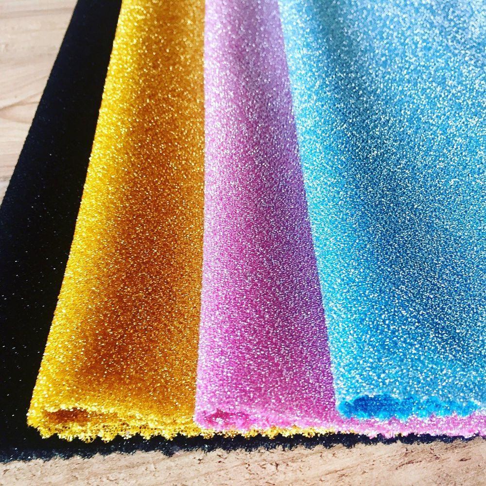 150cm wide Metallic Gold Foil Jersey Knit Fabric